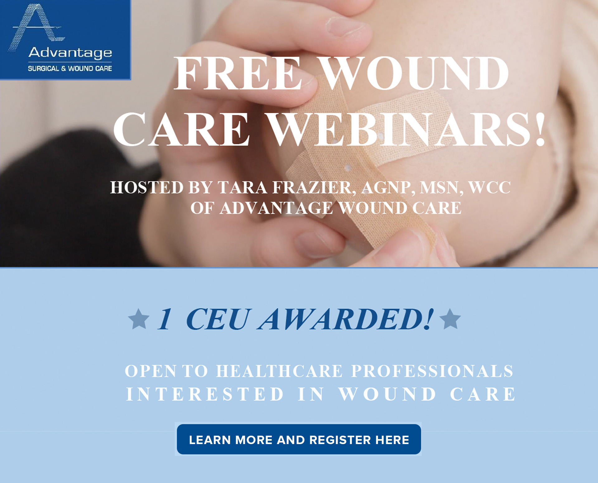 Free Wound Care Webinars
